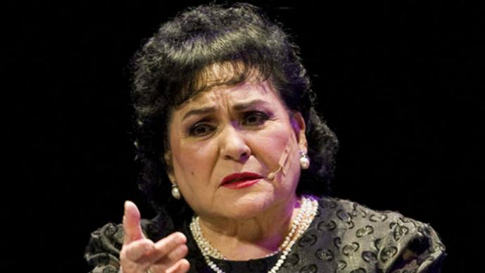 Encuentran sin vida a primera actriz Carmen salinas