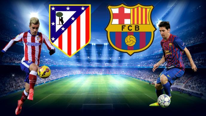 Atl tico vs barcelona en vivo el gr fico for Juego del madrid hoy