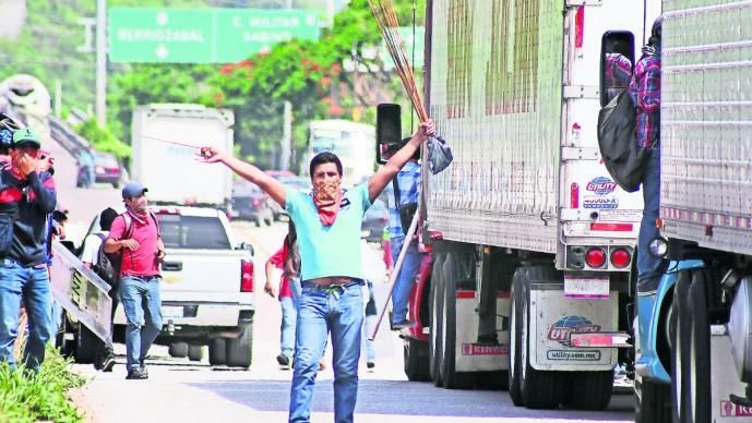 (Foto: Edwín Hernández y Mario Castillo, El Gráfico)
