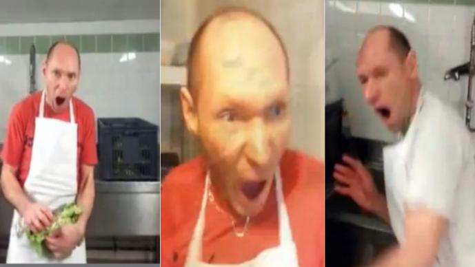 Sustos a cocinero