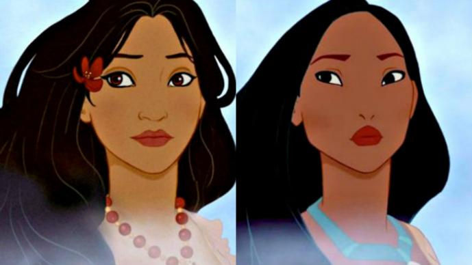 Así serían las princesas de Disney si cambiaran de nacionalidad