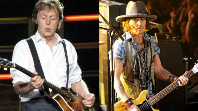Paul McCartney prepara disco con Johnny Deep