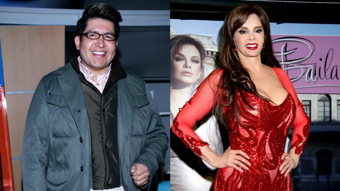 Alex Kaffie y Lucía Méndez >>> Fotos: Photoamc