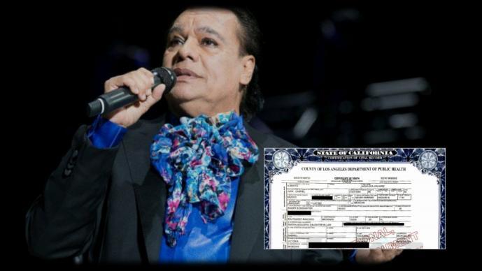 Revelan causa oficial de muerte de Juan Gabriel