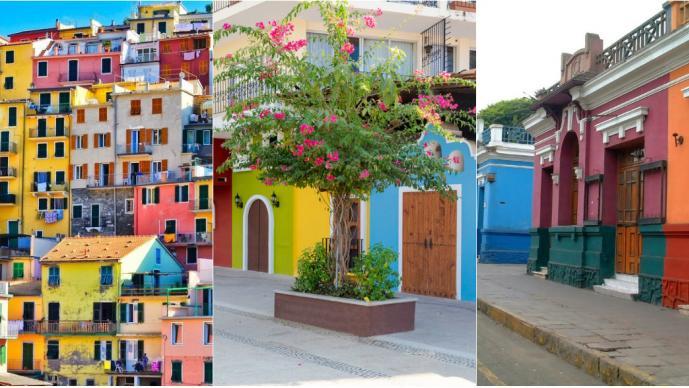 10 ciudades más coloridas del mundo