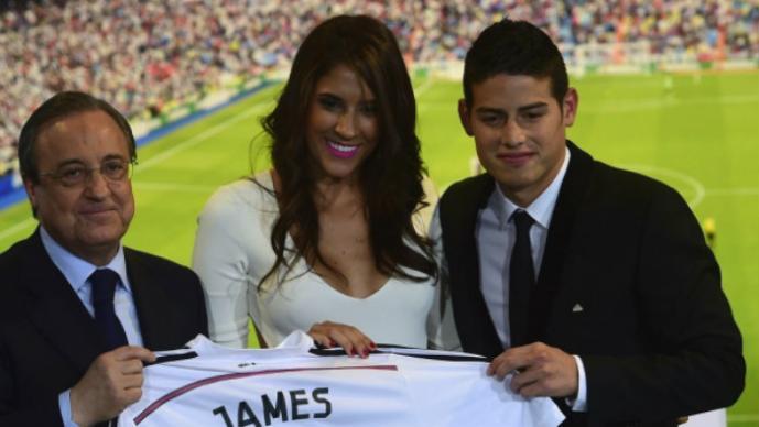 "James Rodríguez ""obligó a su esposa"" a dejar el deporte"