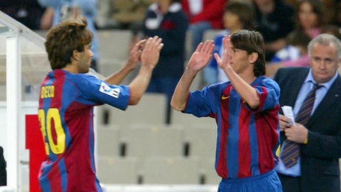 Deco, Lionel Messi