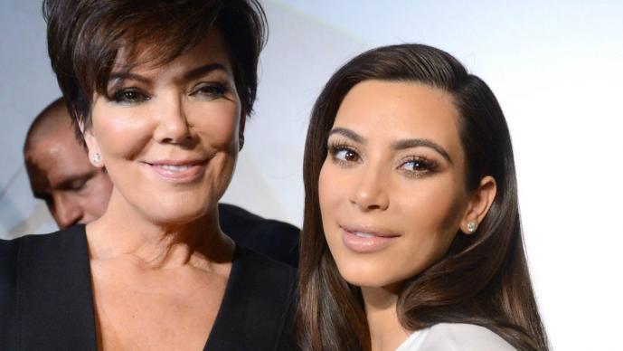Kris Jenner y Kim Kardashian (Foto: Archivo El Universal)