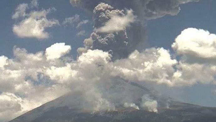 Popocatépetl, volcán