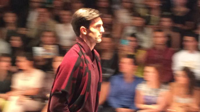 Leonardo de Lozzane y Lydia Lavín, todo un éxito en Fashion Week México