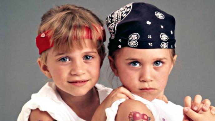 Las gemelas Olsen, el antes y el después
