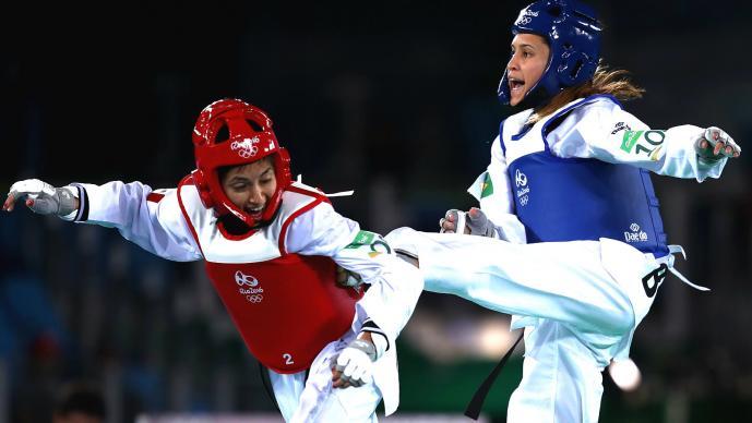 Manjarrez y Navarro alcanza semifinales en taekwondo olímpico