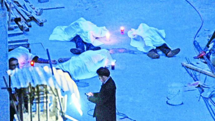 Mueren seis trabajadores tras inhalar gases tóxicos