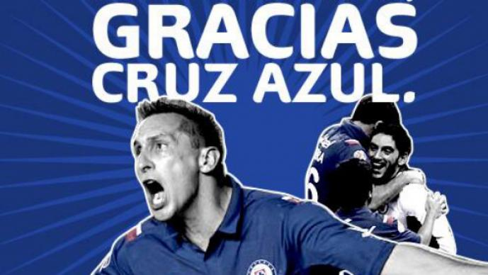 Telcel agradece al Cruz Azul