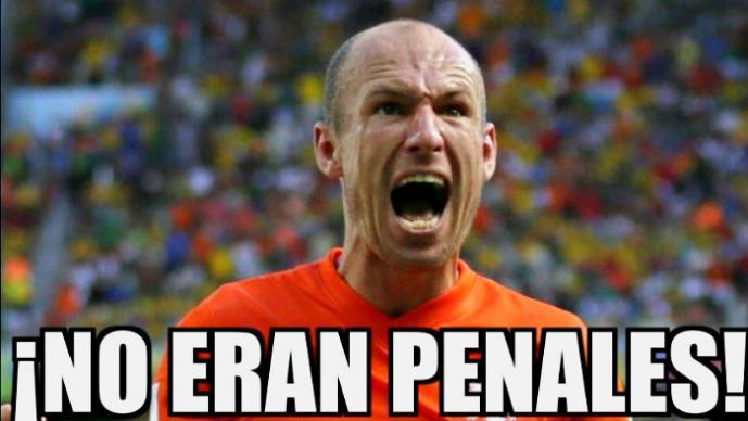 """Robben y Holanda son """"destrozados"""" en las redes sociales"""