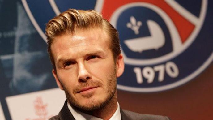 David Beckham encabeza la lista de los futbolistas millonarios del 2013