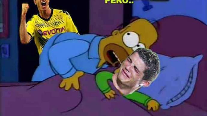 Los memes de la derrota del Madrid ante el Dortmund