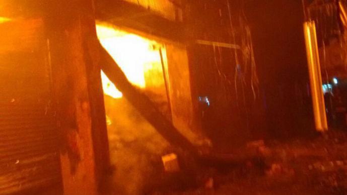 Incendio Central de Abastos (Foto: Yara Silva)