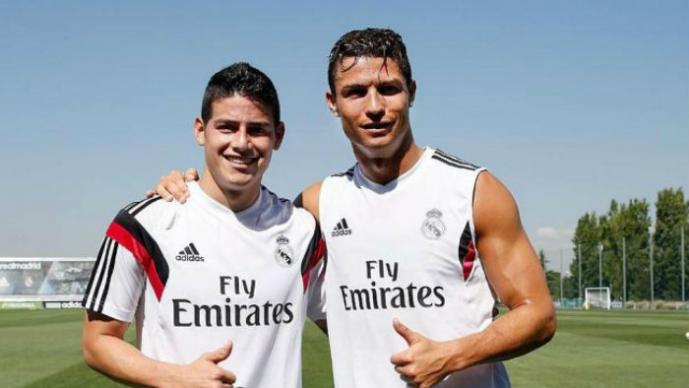 Cristiano Ronaldo, James Rodríguez