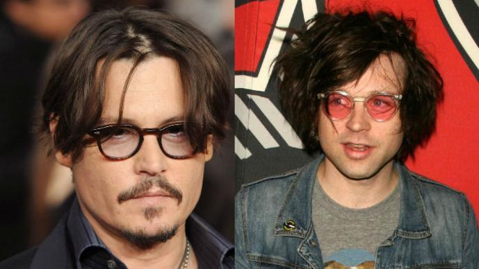 Johnny Depp, Ryan Adams