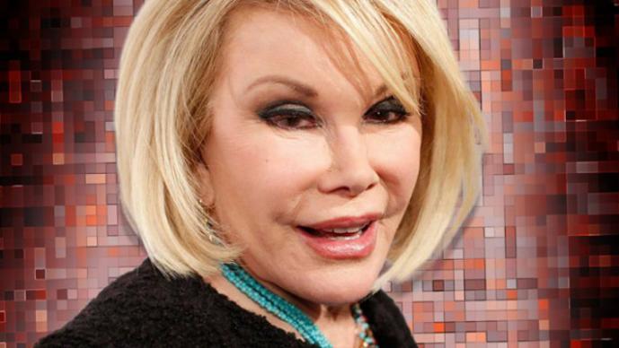 Joan Rivers fue hospitaliza de emergencia