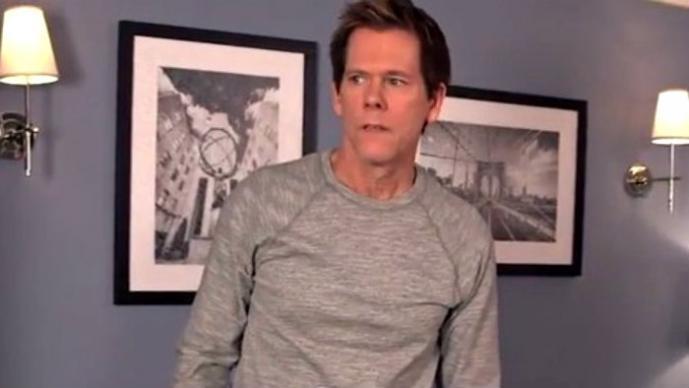 """Kevin Bacon revive su actuación en """"Footlose"""", 30 años después"""