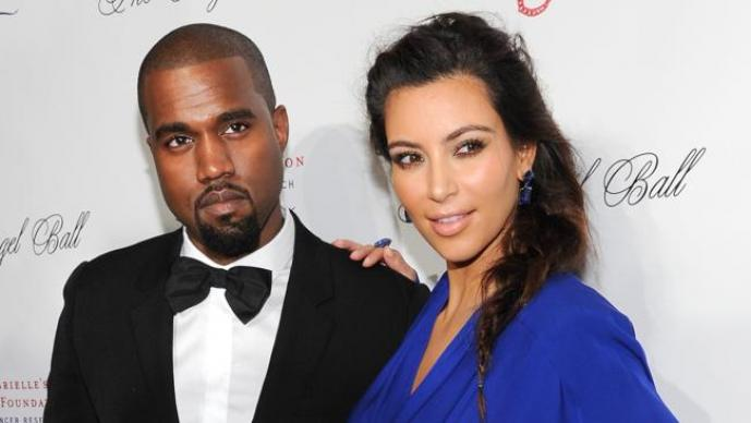 Kanye West, Kim Kardashian, Barack Obama