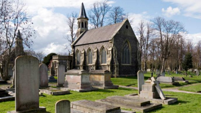 Cementerio, Portsmouth, Inglaterra