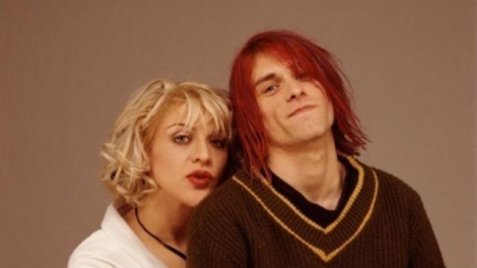 Kurt Covain y Courtney Love