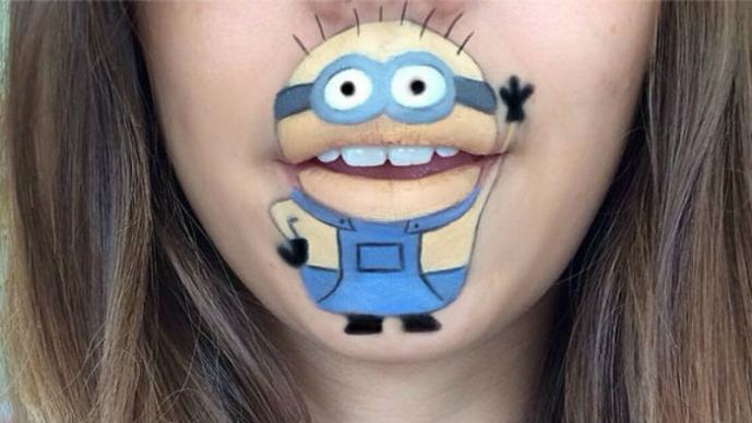 Instagram, Lip art, Laura Jenkinson