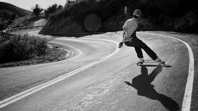Wyatt Gibbs,. Longboard