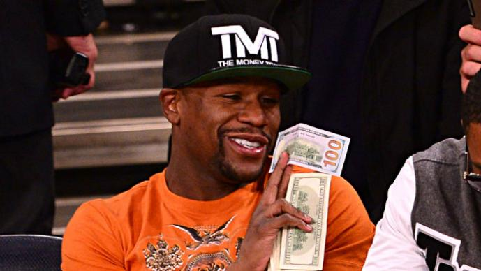 "Floyd Mayweather se hace ""pedicure"" con Justin Bieber 