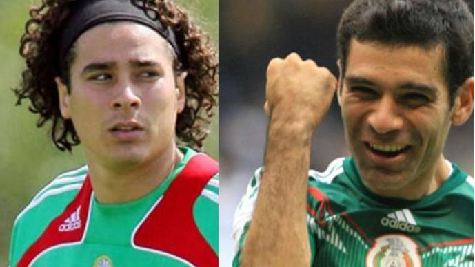 Guillermo Ochoa, Rafael Márquez