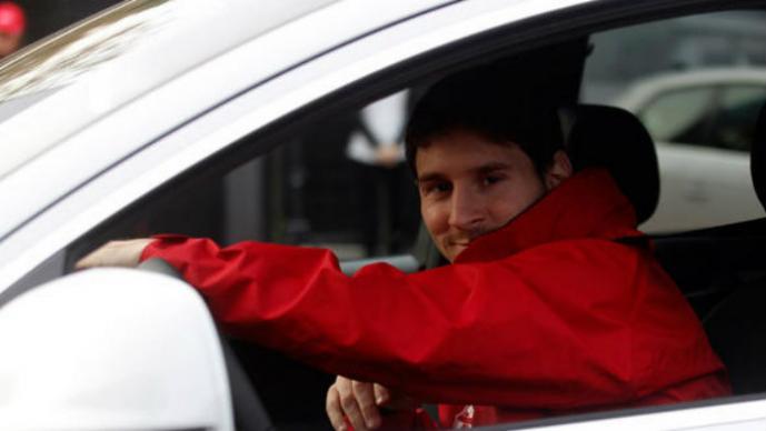 Colección de autos de Messi