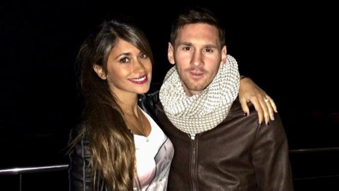 Novia de Messi le envía video privado para felicitarlo por su cumpleaños