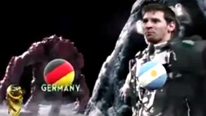 Messi y Alemania son parodiados en video