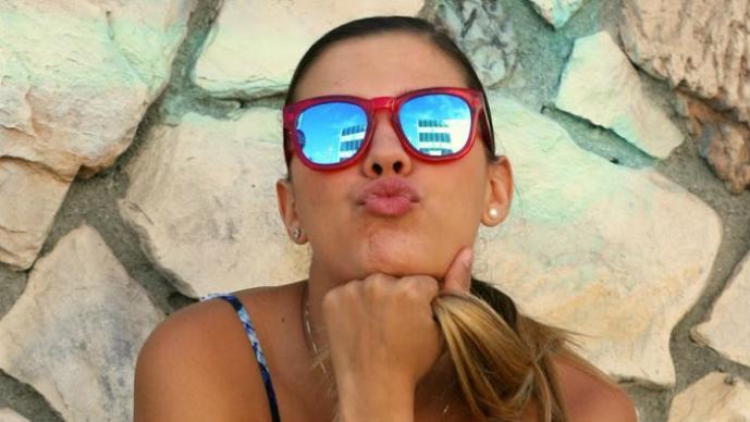 Michelle Salas luce cuerpazo en la playa | FOTOS