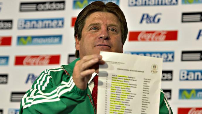 Los futbolistas que quedaron fuera de la Selección Mexicana