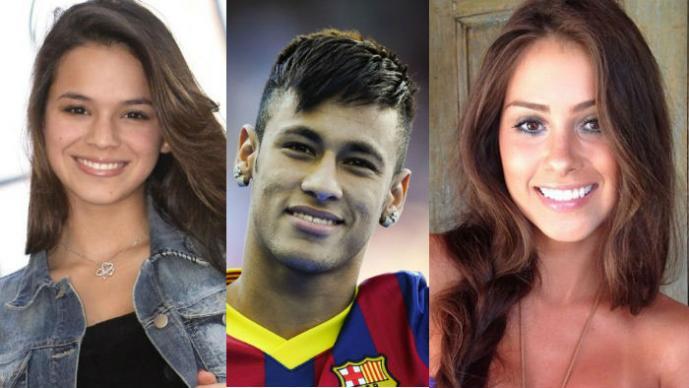 Bruna Marquezine, Neymar, Gabriella Lenzi