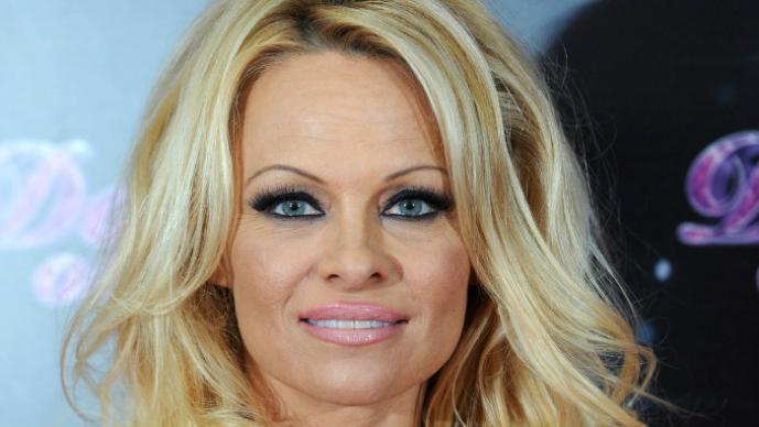 Sorprenden a Pamela Anderson haciendo una felación en el mar