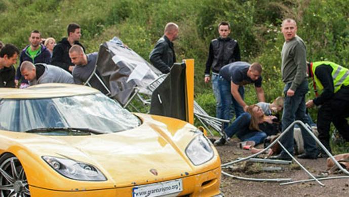 Gran Turismo Polonia, accidente
