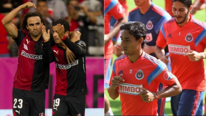 Chivas vs Atlas (Fotos: Twitter)