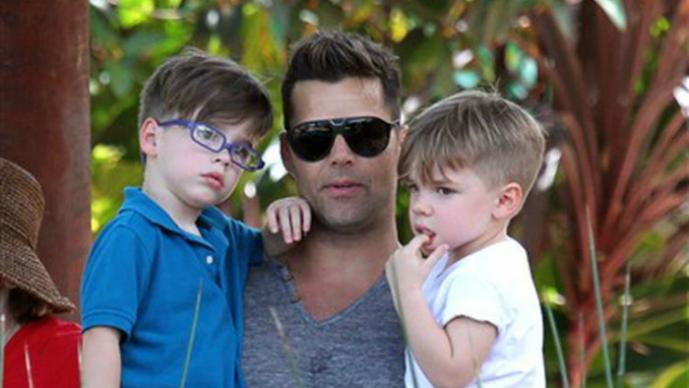 Ricky Martin, Matteo, Valentino