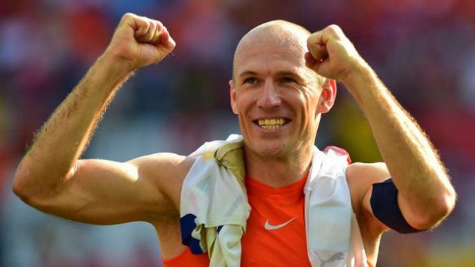 """Robben se siente """"víctima"""" del Mundial"""