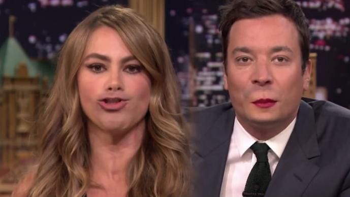 Sofía Vergara y Jimmy Fallon