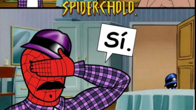 spird5?itok=pzW8Y1W8 spider cholo y 'la neta' de sus memes el gráfico