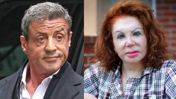 Sylvester Stallone, Jacqueline Stallone,