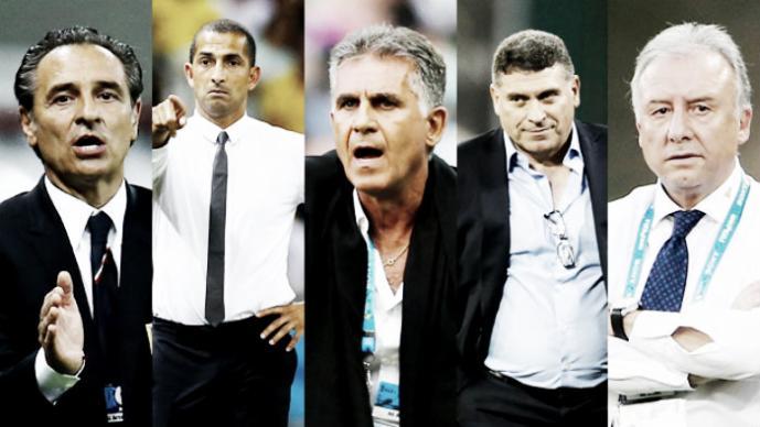 Entrenadores que dejaron el banquillo tras el Mundial