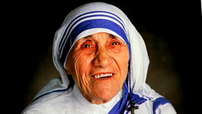 Teresa de Calcuta y su gusto por el dinero