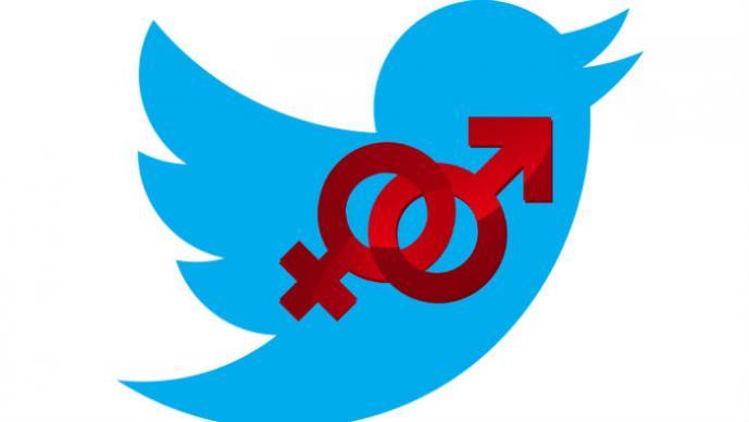 Twitter, sexo